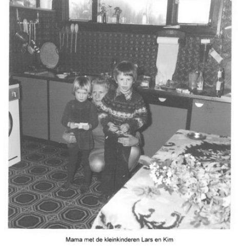 Mama met Lars en Kim